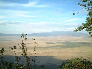 Ngorongoro from the crater rim